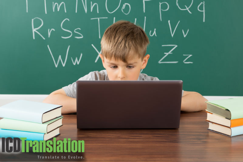 elearning for kids replaces classroom