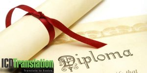 Translation of Diplomas and Certificates