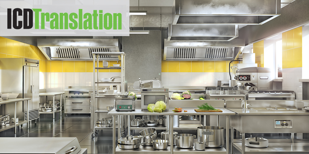 Best Practice Translation for Food Service Equipment and Supply Industry